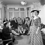 Fashion model, 1956 by Mirrorpix