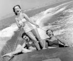 Speedboat at Brighton, 1954 by Mirrorpix