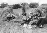 Farm holiday picnic 1945