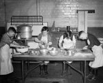 Boys cooking, 1939 by Mirrorpix