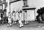 Morris dancers, Forest of Dean 1960 by Mirrorpix