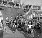 Hula-hooping, Brighton 1958 by Mirrorpix
