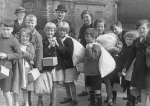 Evacuees from Wallsend, 1939 by Mirrorpix