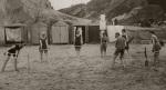 Beach cricket, Bournemouth 1915 by Mirrorpix