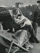 Seaside nap 1950s