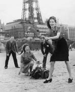 Beach cricket, Blackpool 1946 by Mirrorpix