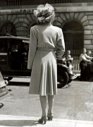Fashion model, 1940s by Mirrorpix