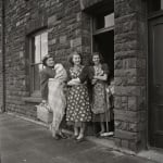 Women on doorstep 1950s