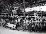 Bicycle factory, Birmingham 1948 by Mirrorpix