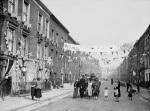 Silver Jubilee street party Finsbury 1935