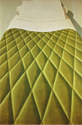 Green Bed Cover, 1969 by Domenico Gnoli