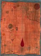 Fruchte auf rot, 1930 by Paul Klee