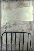 Grand blanc a la cage, 1965 by Antoni Tapies