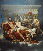 Mars & Venus by Jacques-Louis David