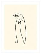 Le pingouin 1907 (Silkscreen print)
