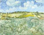 Die Ebene bei Auvers, 1890 by Vincent Van Gogh