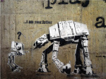 I'm not your Father - Star Wars Graffiti