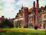 Peterhouse from Fellows Garden by National Railway Museum