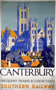 Canterbury - Frequent Trains and Cheap Fares