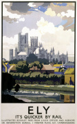 Ely - Cathedral Across River
