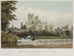 East View of Ely from the Railway