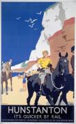 Hunstanton - Woman on Horse
