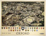 Oxford - View from Air by National Railway Museum