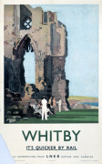Whitby - Abbey Ruin by National Railway Museum