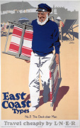 East Coast Types - Deck Chair Man