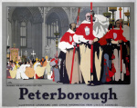 Peterborough - Cathedral Procession