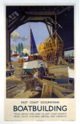 East Coast Occupations - Boat Building by National Railway Museum