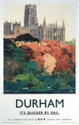 Durham - Trees and Cathedral