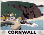 Cornwall - Cliffs and Harbour by National Railway Museum