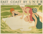 East Coast by LNER - Bathers