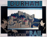 Durham - It's Quicker by Rail by National Railway Museum