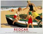 Redcar - Boat on Beach