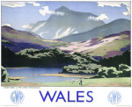 Wales - Cader Idris and Afon Mawddach by National Railway Museum