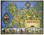 North Wales Map by National Railway Museum