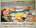 Morecambe and Heysham - Swimming Pool by National Railway Museum