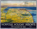 Norfolk Holiday Resorts by National Railway Museum