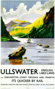 Ullswater - English Lake-Land via Darlington