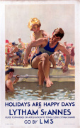 Lytham St Annes - Holidays are Happy Days by National Railway Museum