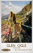 Glen Ogle, Perthshire by National Railway Museum