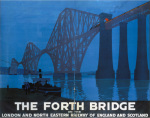 The Forth Bridge - At Night