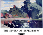 The Severn at Shrewsbury