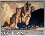 Scotland - Tantallon Castle by National Railway Museum