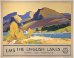 The English Lakes - Scafell and Wastwater by National Railway Museum