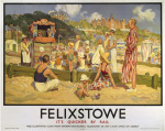 Felixstowe - Punch and Judy by National Railway Museum
