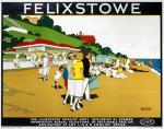 Felixstowe - Beach and Promenade by National Railway Museum