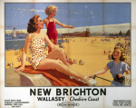 New Brighton Wallasey - Beach